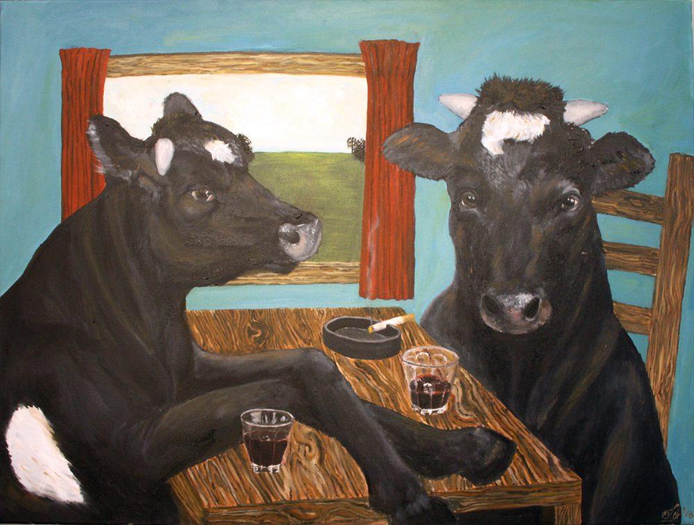 koeienborrel