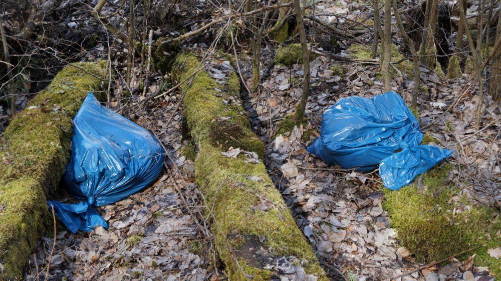 plastic bags waste pol...n nature 1322638